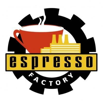 free vector Espresso factory