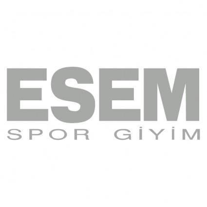 free vector Esem spor giyim