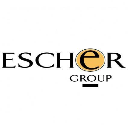 free vector Escher group