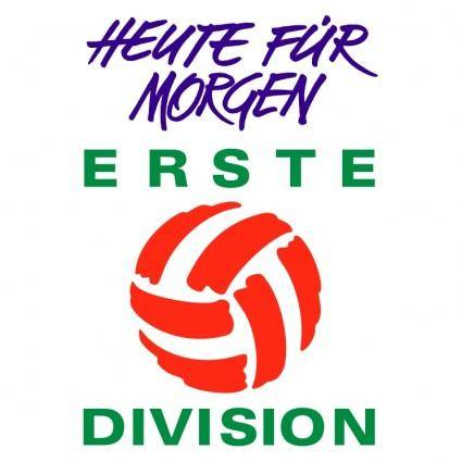free vector Erste division