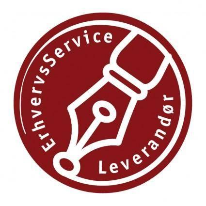 free vector Erhvervsservice leverandor