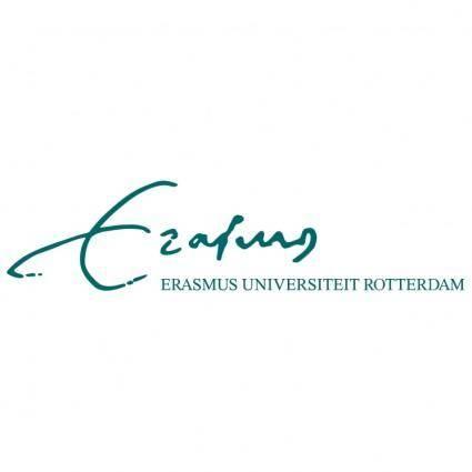 free vector Erasmus universiteit rotterdam