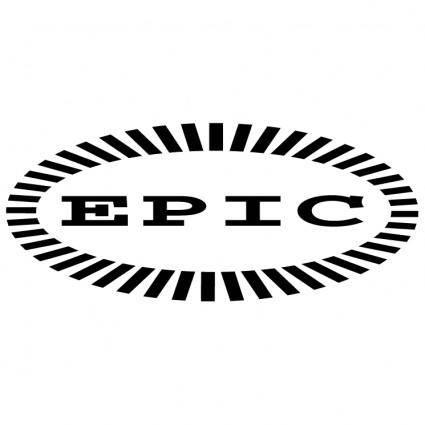 free vector Epic shine records