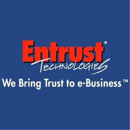 free vector Entrust technologies 0