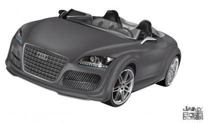 free vector Audi TT Convertible Vector