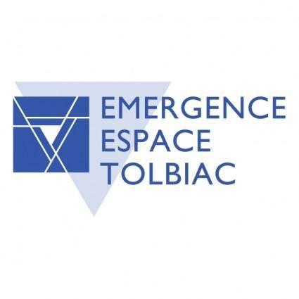 free vector Emergence espace tolbiac