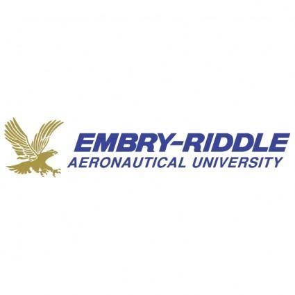 free vector Embry riddle aeronautical university