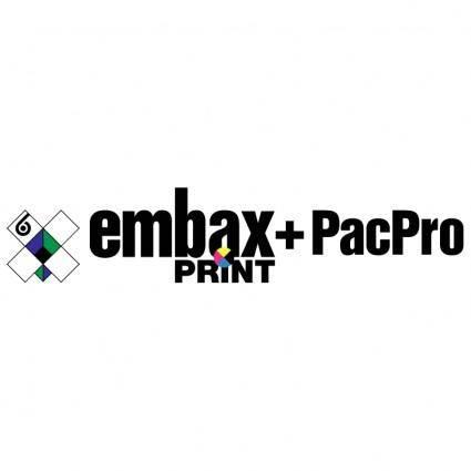 Embax print pacpro