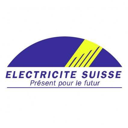 free vector Electricite suisse