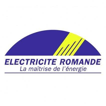 free vector Electricite romande