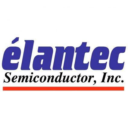free vector Elantec semiconductor