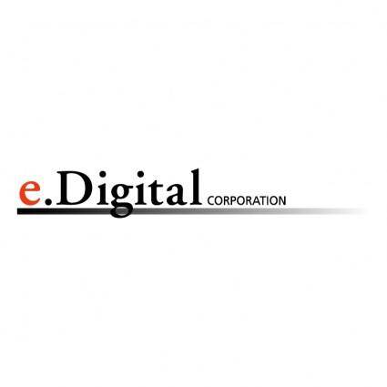 free vector Edigital corporation 0