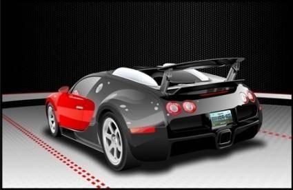 free vector Bugatti Veyron Vector