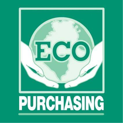 free vector Eco purchasing