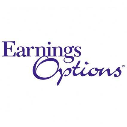 free vector Earnings options