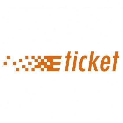 free vector E ticket