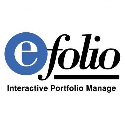 free vector E folio