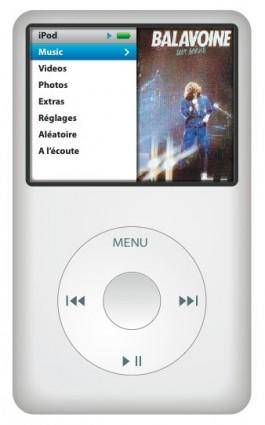 free vector IPod Classic