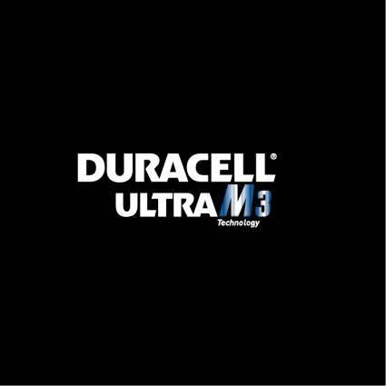 free vector Duracell ultra m3 technology