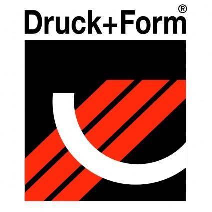 free vector Druck form