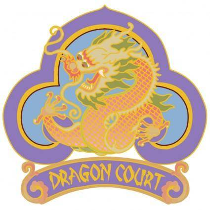 free vector Dragon court