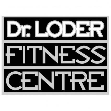 free vector Dr loder fitness center