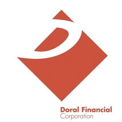 free vector Doral financial corporation