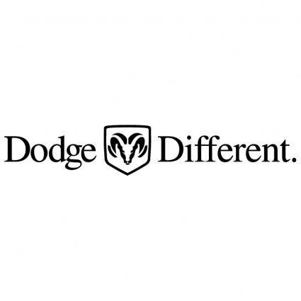 Dodge different