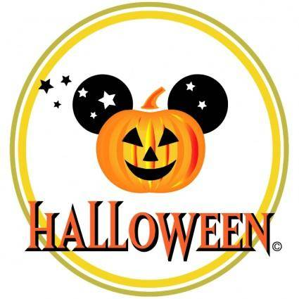 free vector Disney halloween