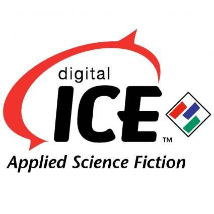 free vector Digital ice