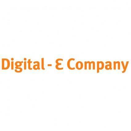 free vector Digital e company