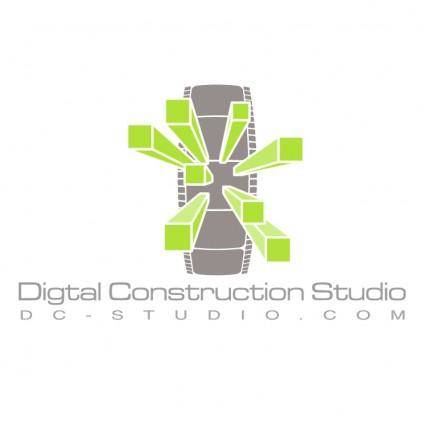 free vector Digital construction studio