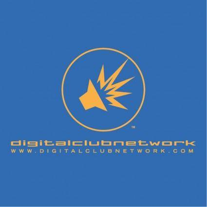 free vector Digital club network 1