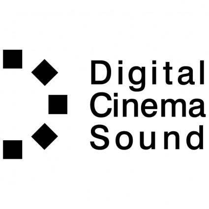 free vector Digital cinema sound
