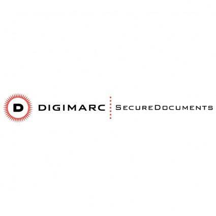 free vector Digimarc securedocuments