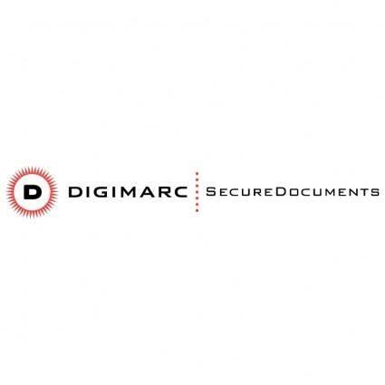 free vector Digimarc securedocuments
