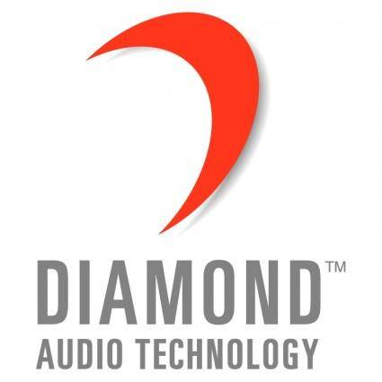 free vector Diamond audio technology