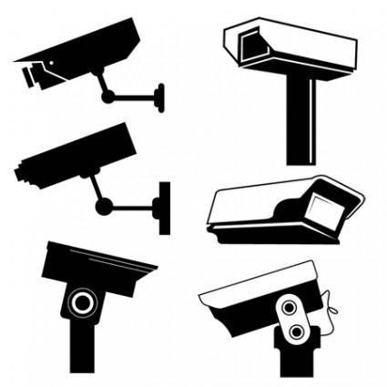 free vector CCTV Camera Vector Graphics