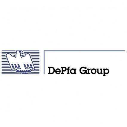 free vector Depfa group