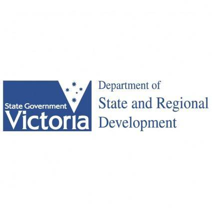 free vector Department of state and regional development