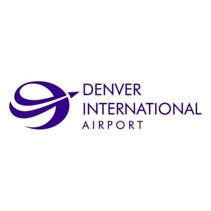 free vector Denver international airport