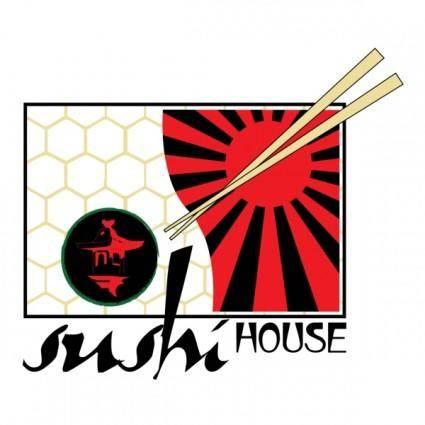 free vector Sushi House Logo
