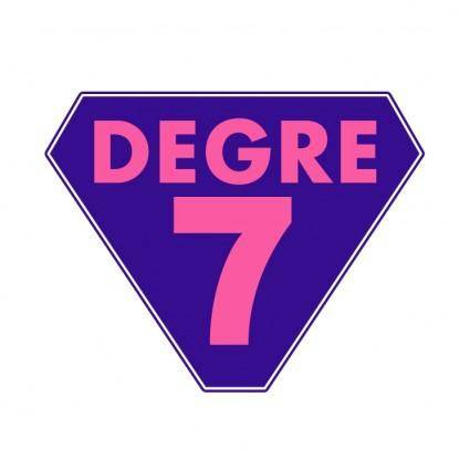 Degre 7