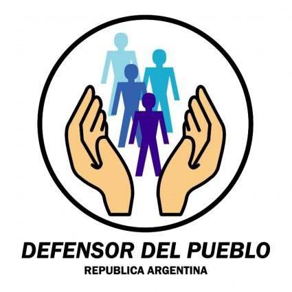 free vector Defensor del pueblo