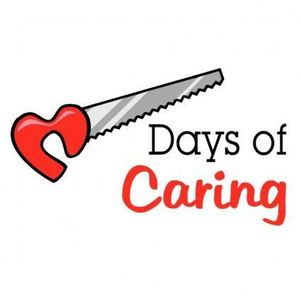 free vector Days of caring
