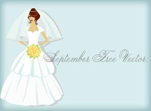 free vector Bridal Shower Card