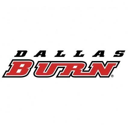 free vector Dallas burn