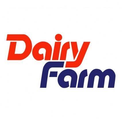 free vector Dairy farm
