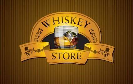 free vector Whisky Store
