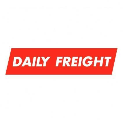 Daily freight